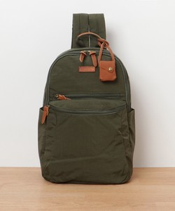 A/W Nylon Leather Backpack