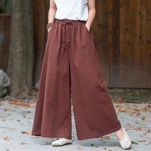 Ladies Plain Pants 5 Colors