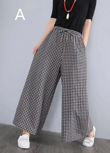 Ladies Checkered Pants 4 Colors