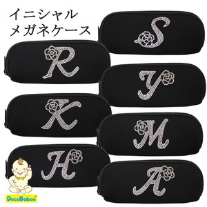 Eyeglass Case Initial soft Eyeglass Case Plain