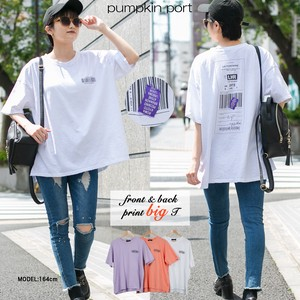 [ 2020NewItem ] Korea Cotton Print Big Long T-shirt