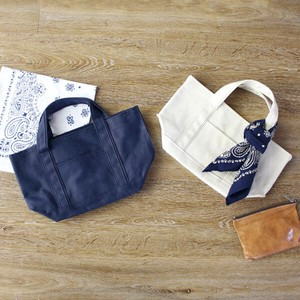 [ 2020NewItem ] TIMELESS Tote Bandana Attached Canvas Canvas Casual