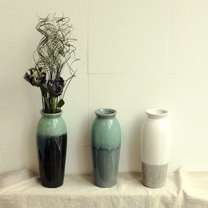 Earth Painted. CERAMIC FLOWER VASE-2 【花瓶】【2020新作】