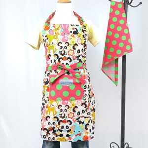 Apron Sling Width Attached Hand Maid nami Safety Panda Bear