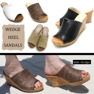 [ 2020NewItem ] Cork Wedged Sandal