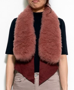 CROSS Reserved items Cashmere Fur Vest