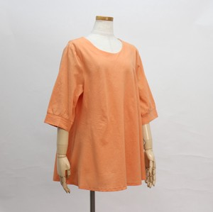 Size L Plain Wash Roll Neck A line Tunic T-shirt