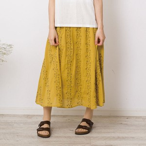 [ 2020NewItem ] peniphass Cotton Floral Pattern Embroidery Skirt