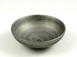 晶雲母銀 空浅小鉢