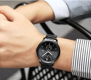 Analog Wrist Watch Multiple Functions
