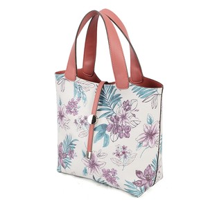 """2020 New Item"" Synthetic Leather Floral Pattern Handbag Bag"