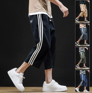 Men's Pattern Three-Quarter Length Casual Pants 5 Colors
