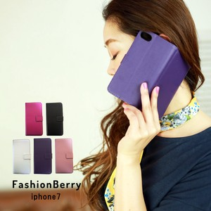 iPhone Fake Leather Notebook Type Case