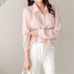 pin Tuck Office Blouse