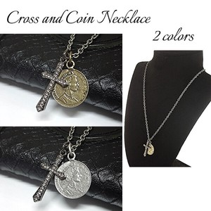 Closs Coin Necklace