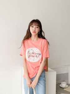 [ 2020NewItem ] Pearl Decoration Flower Lace T-shirt