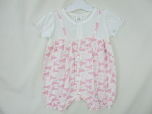 Rabbit Print Switch Short Sleeve Combi