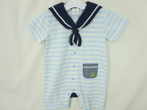 Sailor Pocket Border Short Sleeve Combi