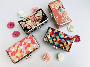 Cosme Pouch Coin Purse Japanese Pattern Fancy Goods Pouch