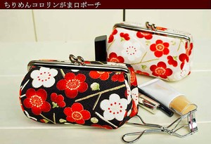 Coin Purse Pouch Japanese Pattern Fancy Goods Pouch