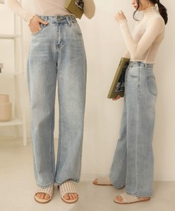 Sold Out Reserved items Double Button Wide Denim Reach Pants