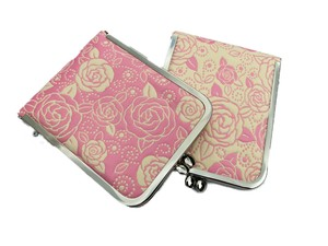 Mirror Stand Up Coin Purse rose