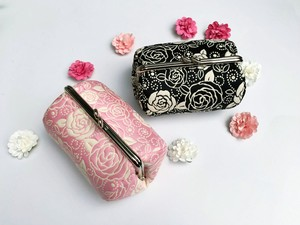 Coin Purse Pouch rose Fancy Goods Pouch