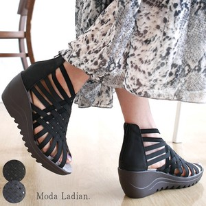 [ 2020NewItem ] Sandal Wedge Sole Beautiful Legs Heel Attached
