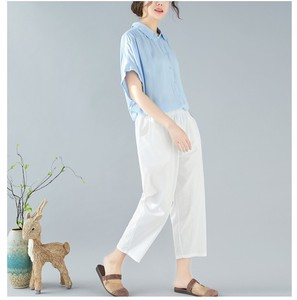 Leisurely Three-Quarter Length Pants Ladies