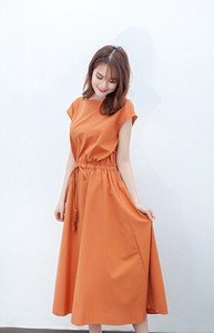 Slim Effect One-piece Dress Ladies