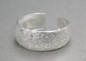 Silver 925 Ring Ring Silver Toe Ring Diamond Cut Finish