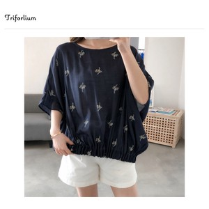 [ 2020NewItem ] Pattern Embroidery Blouse