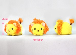 """Puchimaru Animals"" Soft Toy LION"