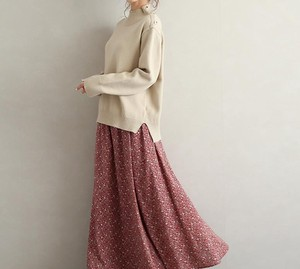 Skirt New Arrival Floral Pattern Skirt