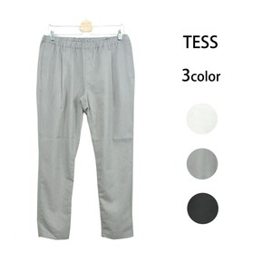 S/S Tuck Stretch Slim Pants