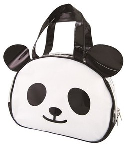 Vinyl Overnight Bag Panda Bear