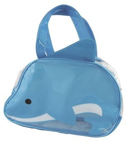 Vinyl Overnight Bag Dolphin