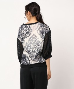 Oriental ponte fabric Pullover Germany Print Print