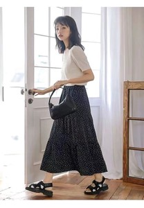 [ 2020NewItem ] Dot Long Skirt