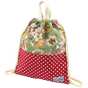 Knapsack Pocket Lovely Animal Green