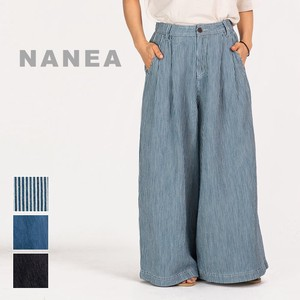 S/S Denim Hickory wide pants