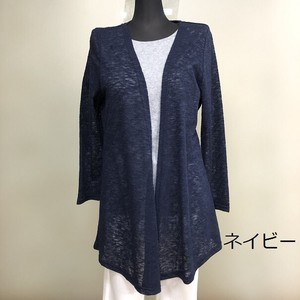 [ 2020NewItem ] Watermark Material Back Russell Lace Switching Tunic Cardigan