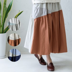 S/S Gather Switching Balloon Skirt
