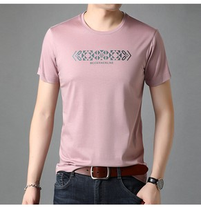 Round Neck T-shirt Men