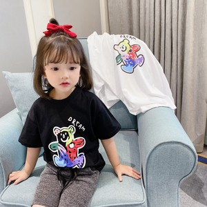 Short Sleeve S/S Children's Clothing T-shirt