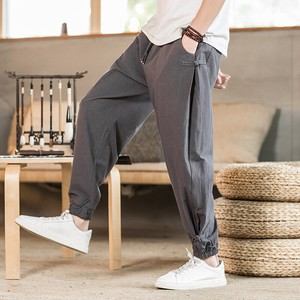 Men's 9/10Length Pants Thin 4 Colors
