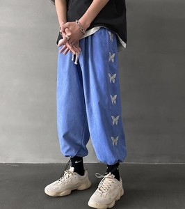S/S Men's Plain 9/10Length Pants Pants 3 Colors
