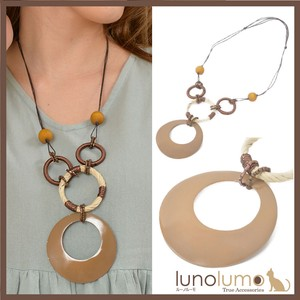 Necklace Pendant Ladies Shell Brown Natural Casual Natural Material