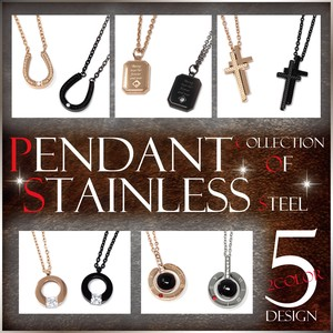 S/S Stainless Pendant Gift Men's Ladies Accessory S/S A/W