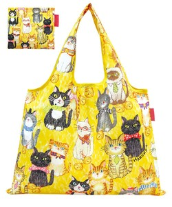 Shopping Bag Cat Folded Eco Bag